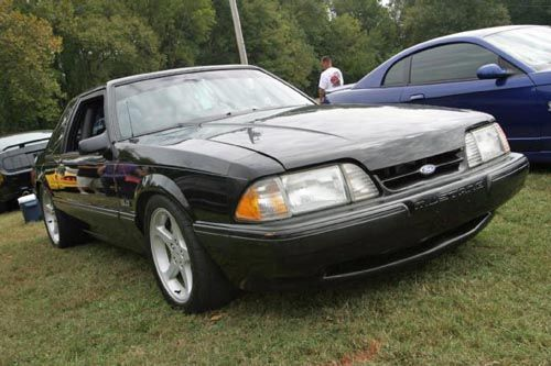daily-driven 1990 coyote-swapped fox mustang: this 1990 ford mustang lx is
