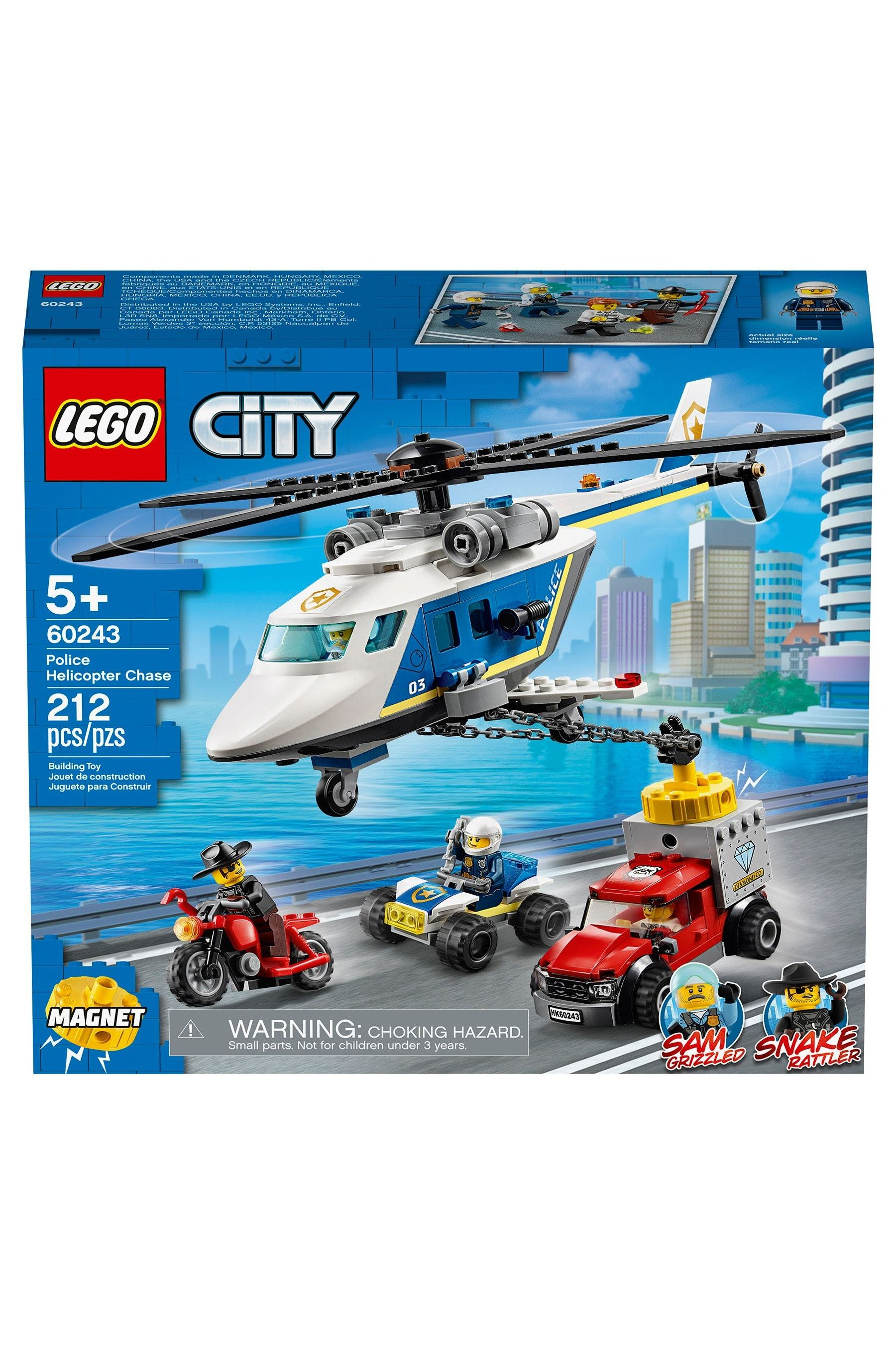 Lego City Police Police Helicopter Chase 60243 In 2020 Lego City Police Lego City Lego City Police Sets