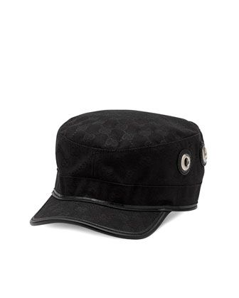 970427431d8 Military Cap by Gucci at Neiman Marcus.