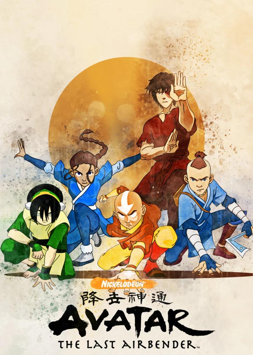 Azula Avatar Custom Silk Poster Wall Decor