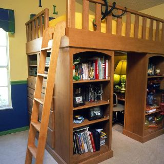 Best Cool Loft Bed With A Hideout Desk Underneath Storage 640 x 480