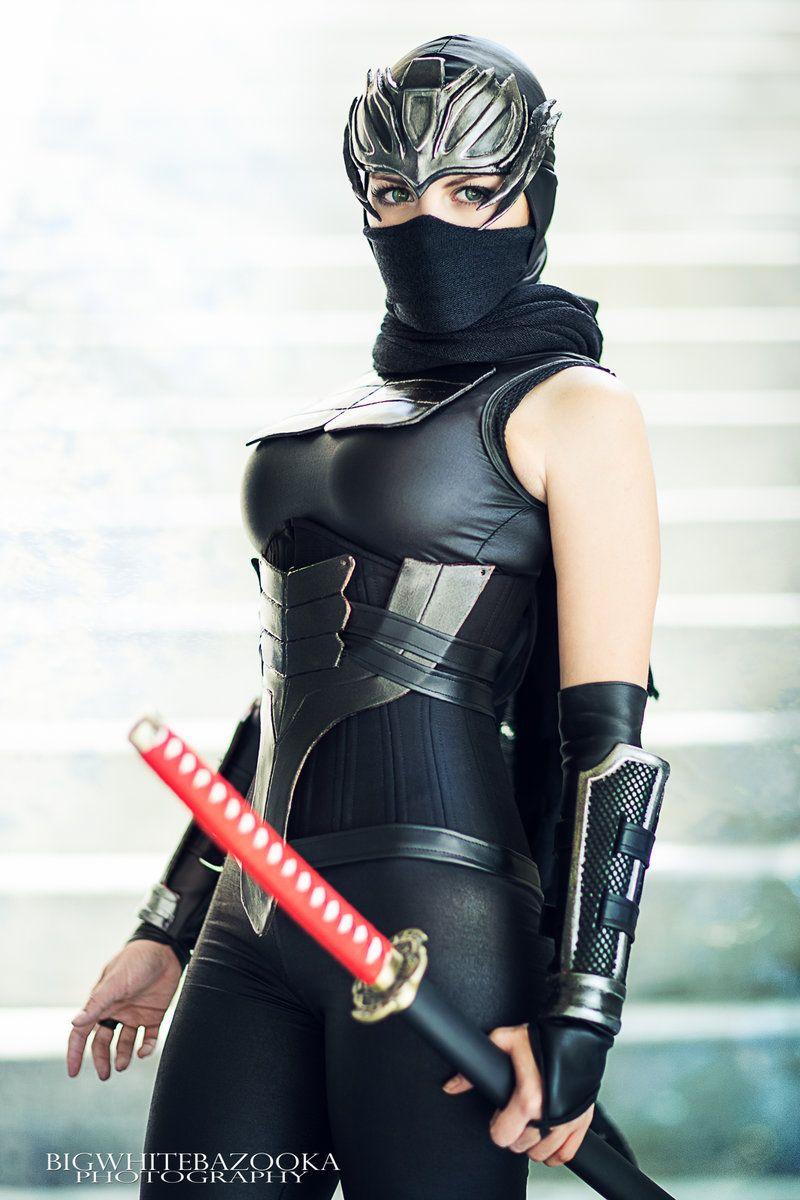 Female Ninja Gaiden Cosplay By Nadia Sonika Photo By
