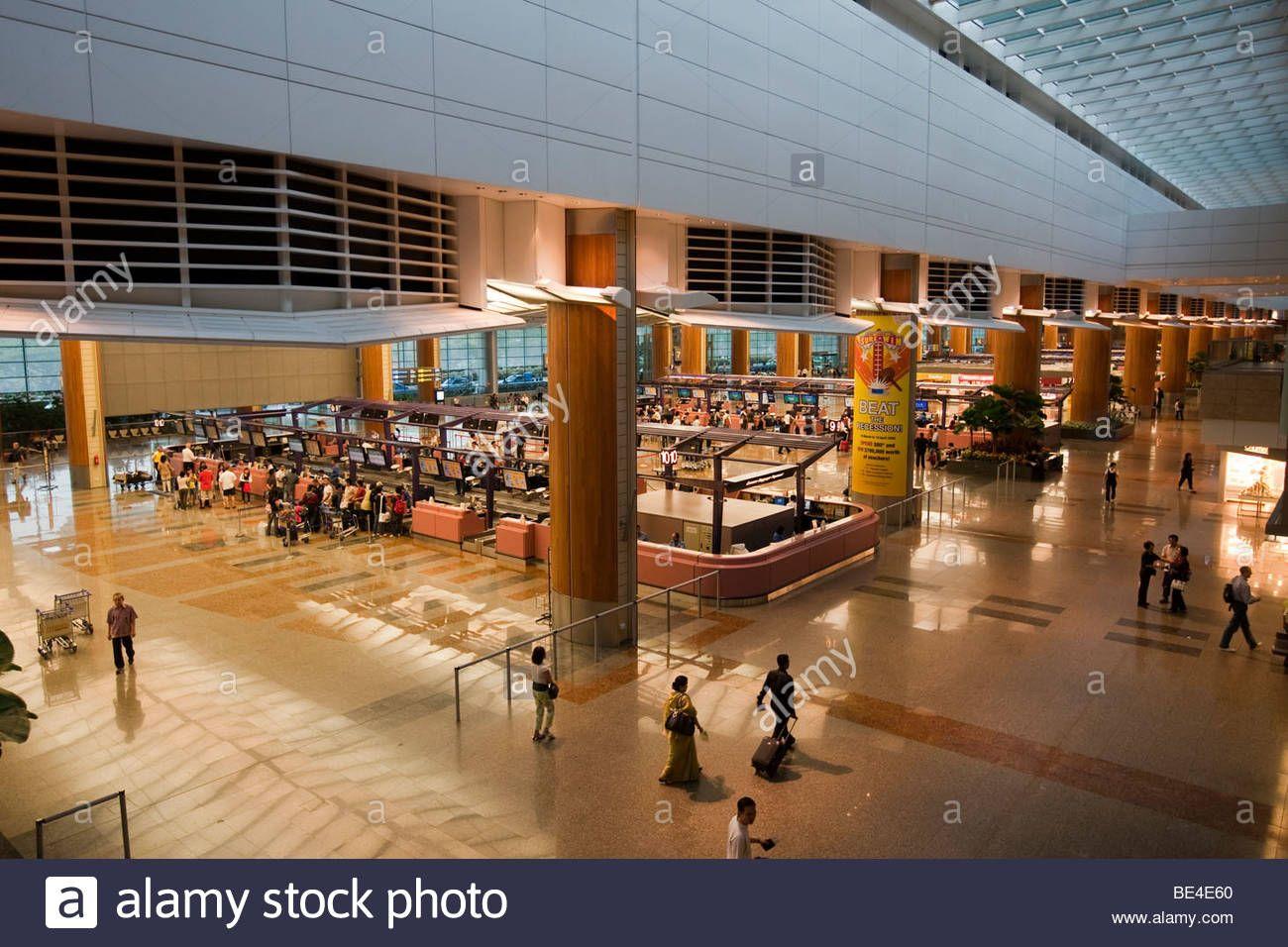 Changi T3 Airport Design Changi Airport Check In