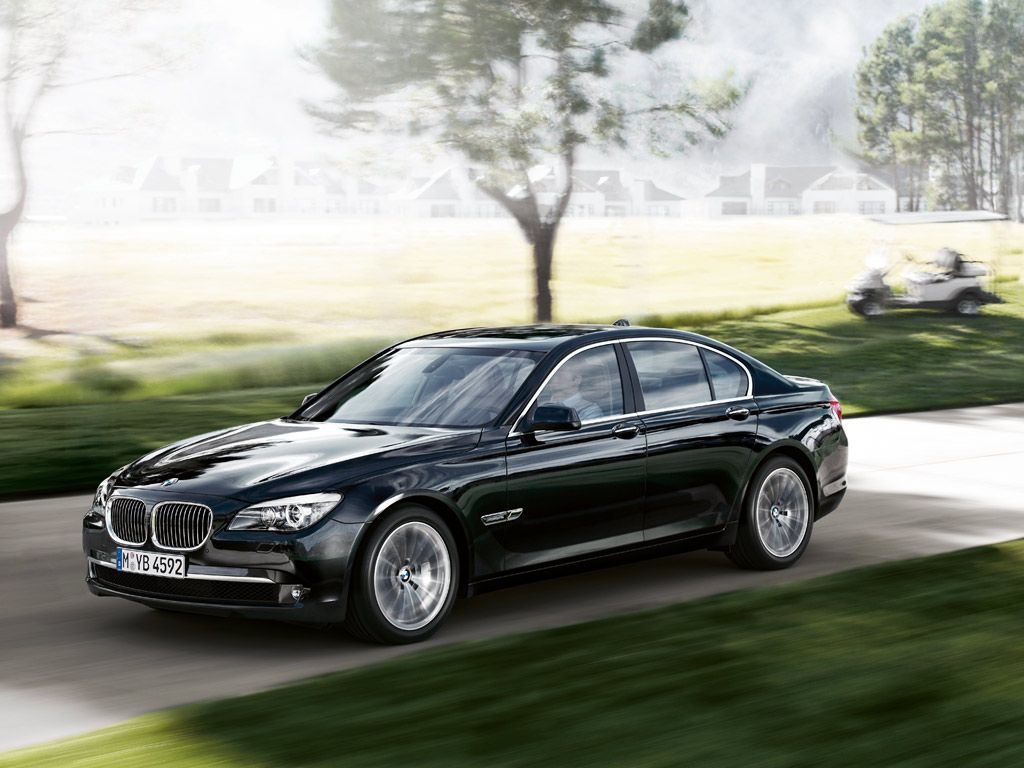 The 2012 Bmw 750li Probably Coming Sooner Than Later To A Parking