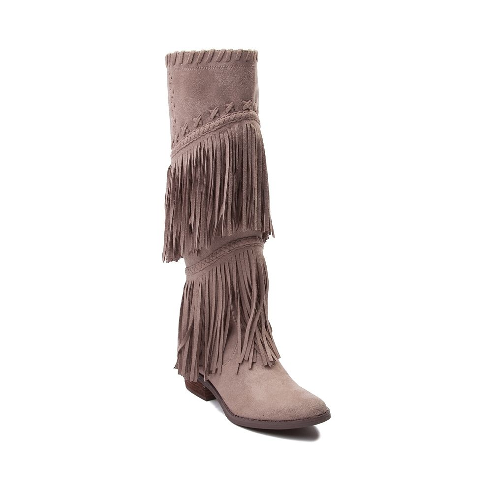 Womens Not Rated G Funk Fringe Boot Boots Suede Fringe Boots Faux Suede Boots