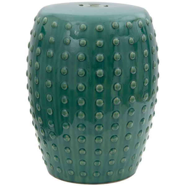 Perfect 18 Inch Teal Porcelain Garden Stool (China) | Overstock.com Shopping