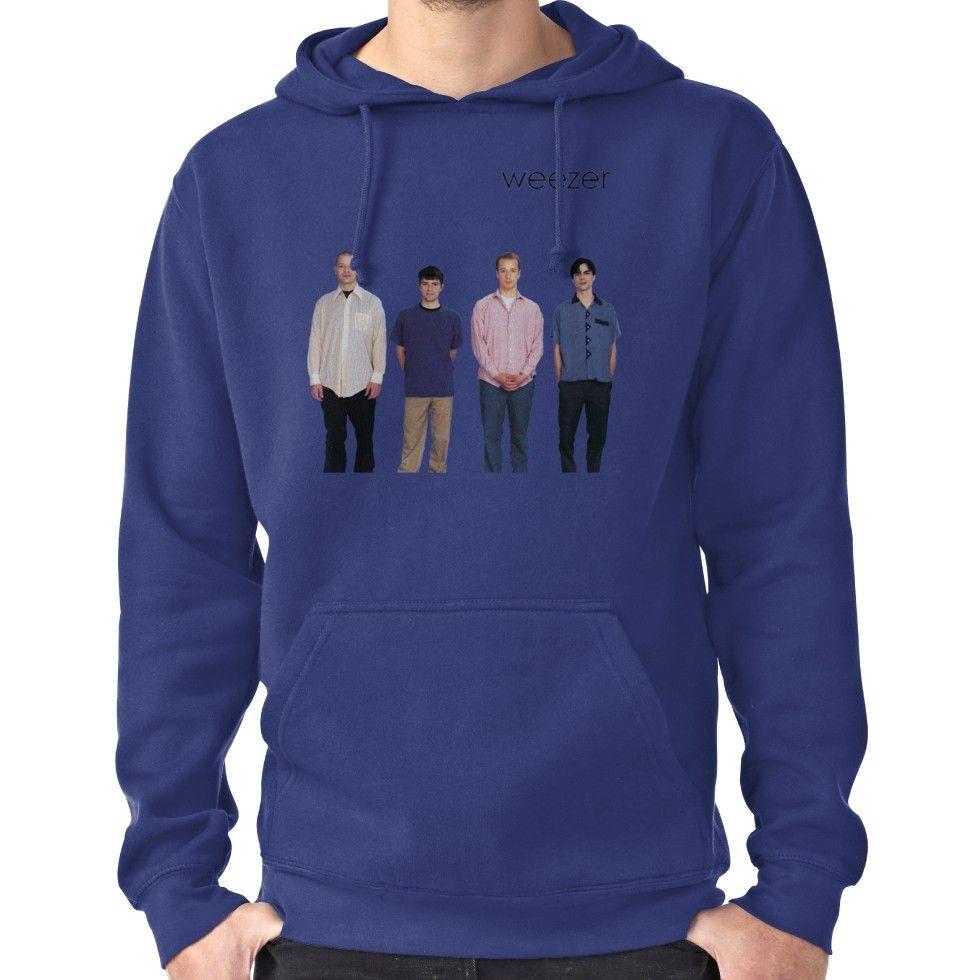 Weezer Christmas Sweater.Weezer Blue Album Hoodie Pullover Products Hoodies