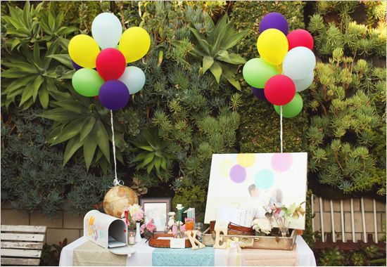 boda-up-mesa (550×380) | fiestas | pinterest | buzón, globo y boda