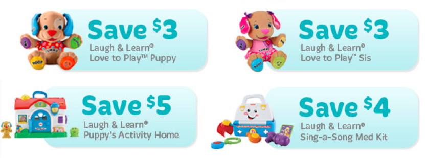40 in New Fisher Price Coupons + Deals! Coupon deals