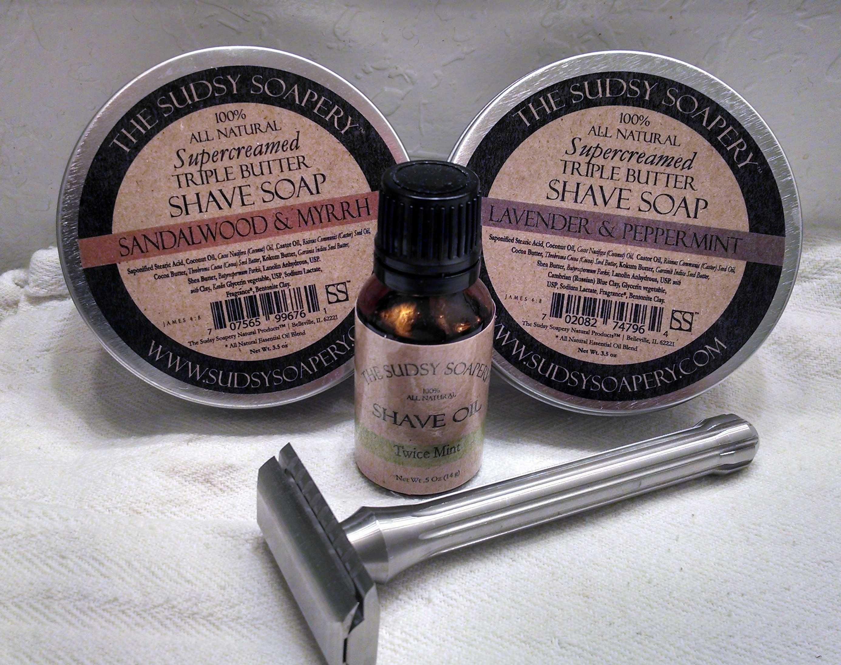 Sudsy Soapery Shaving Soap Review on WhyIWetShave.com