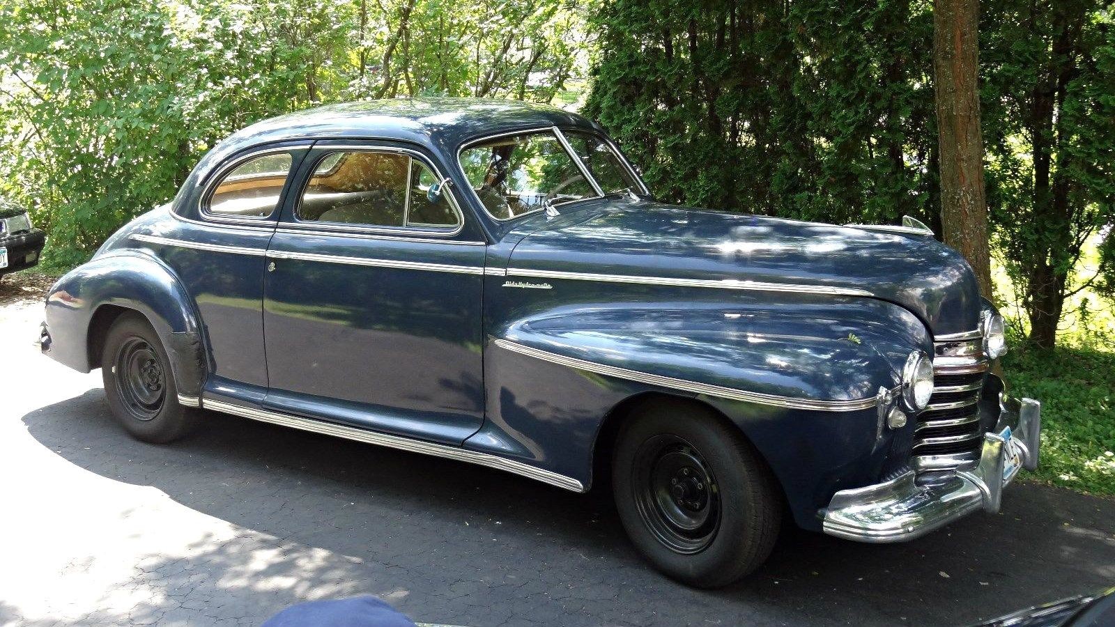 Clean as a whistle 1941 oldsmobile 66 http barnfinds com