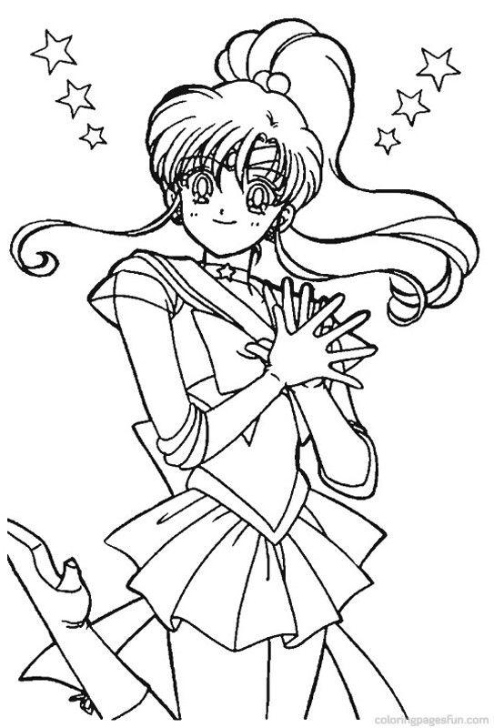sailor moon coloring pages printable - Szukaj w Google | Sailor Moon ...