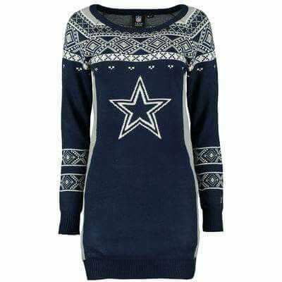 689fa286266 Dallas Cowboys UglY Christmas Sweater