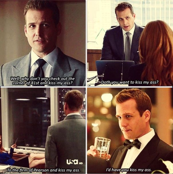 Tv Quotes Tumblr: Harvey Specter And His Ass. By Michmemoirs On Tumblr