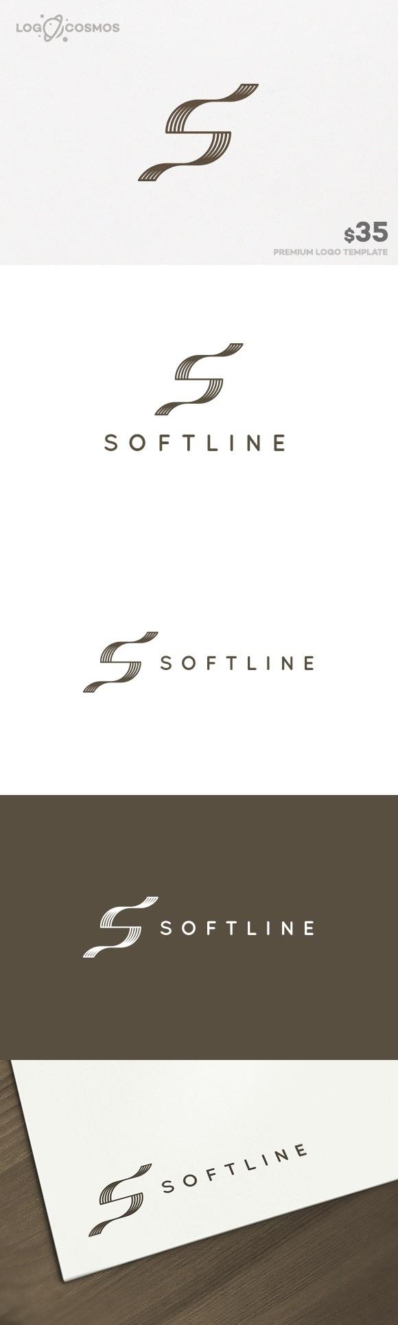 Softline - Letter S Logo. Logo Templates. $35.00