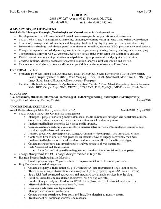 qualifications popular resume download pdf job summary examples - job summary examples for resumes