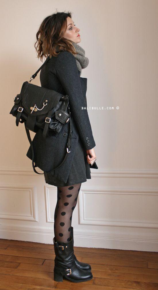 Outfit Zu Biker Boots