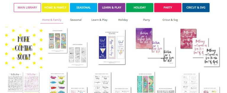 Get FREE access to the BEST CRICUT and SVG Printables library