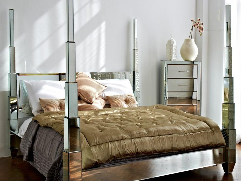 Cool Mirrored Bed Frame Home Design Mirror Bed Bed Frame Bed