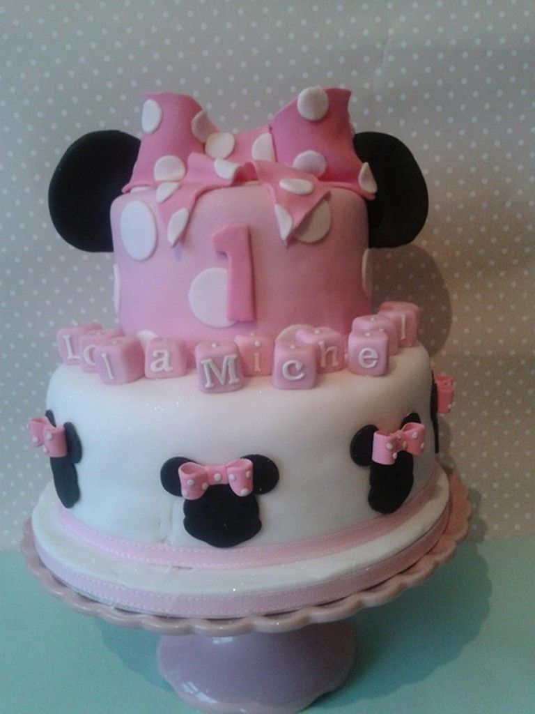 Mickey Minnie Mouse Baby Shower Cakes Baby Shower Cakes