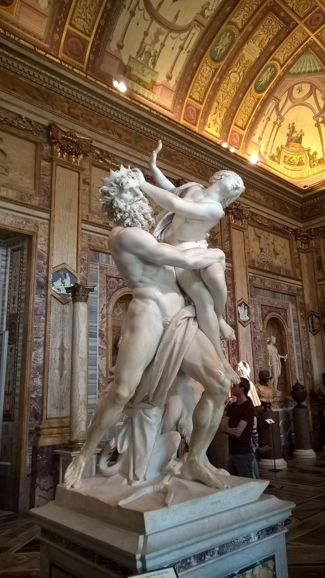 Dit is n van de bekendste beelden van gian lorenzo bernini de verkrachting van proserpina - Beeld het meisje van ...
