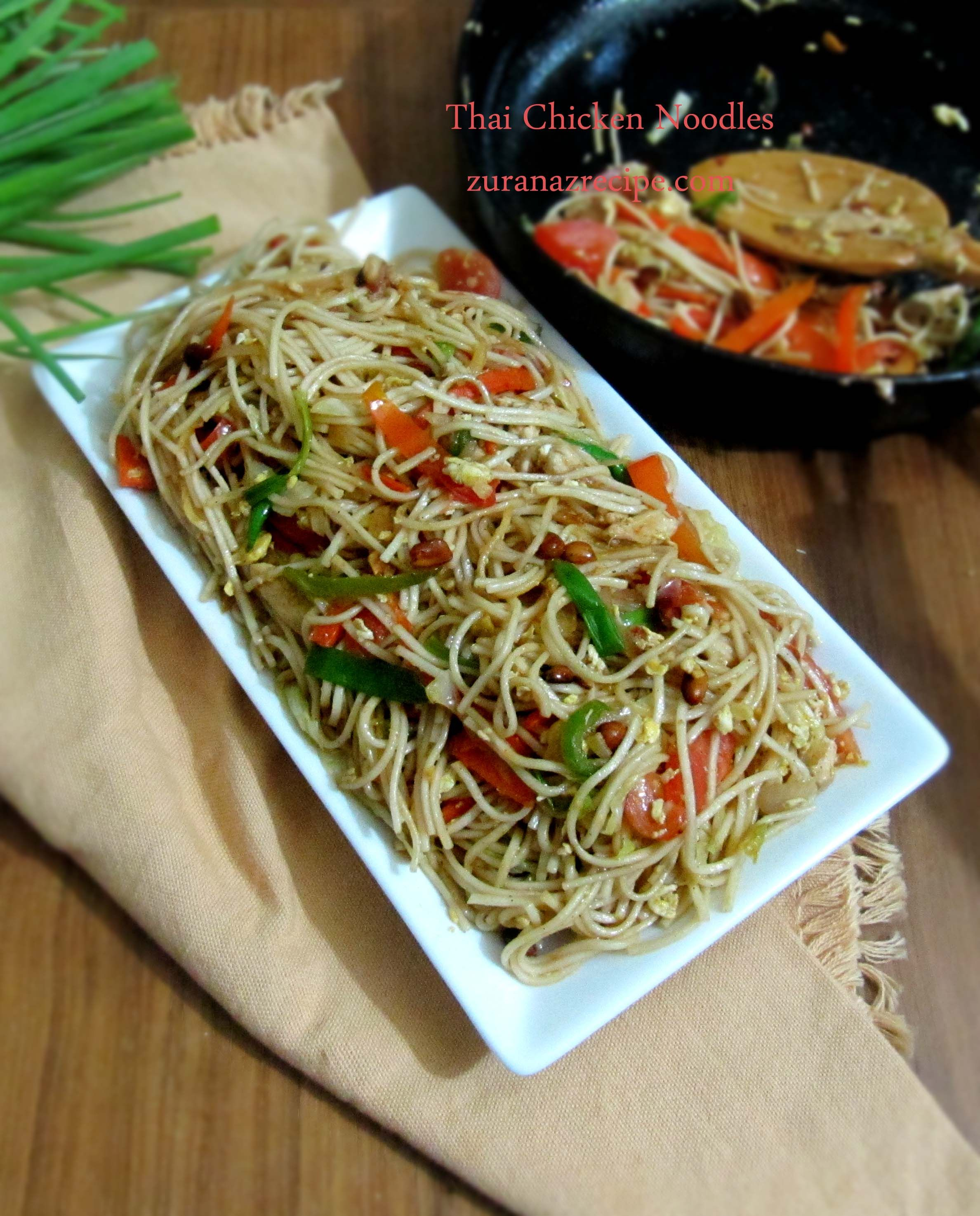 Thai chicken noodles bangla bangladeshi bengali food recipes thai chicken noodles detailed photo and video recipe basically its a popular indo chinese street food recipe served as a appetizer or snacks forumfinder Gallery