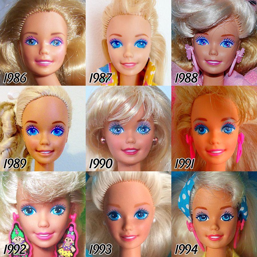 giocattoli barbie anni 90