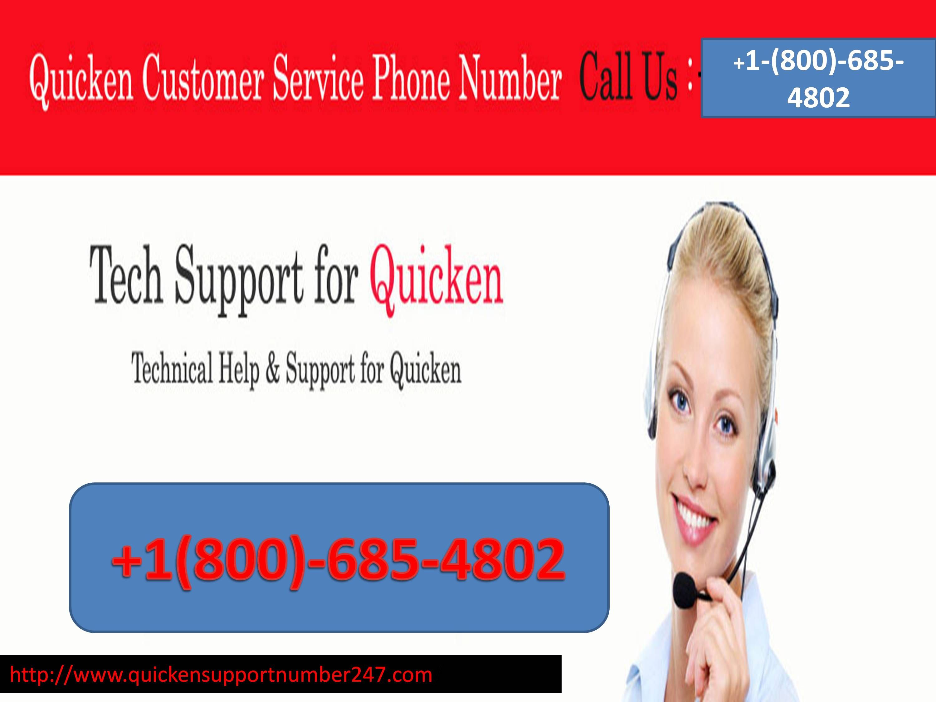 you can dial Quicken customer Service number ++1(800