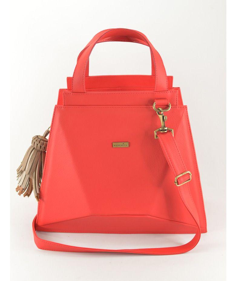 96ac21385 Regalos que encantan: Cartera Krufa color Rojo Parchita en Dekosas ...
