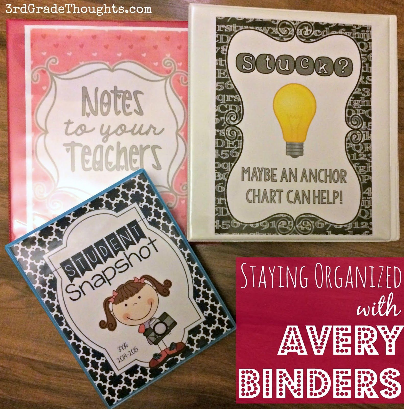 Back To School Binder Fun With Avery Products