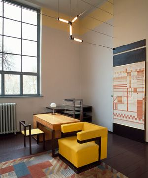 Gropius Room in the university's main building (photo