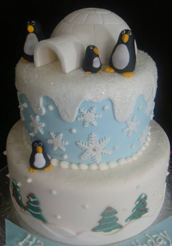 Cool Penguin Birthday Cakes Touch Of Cake Our Cakes With Images Funny Birthday Cards Online Alyptdamsfinfo