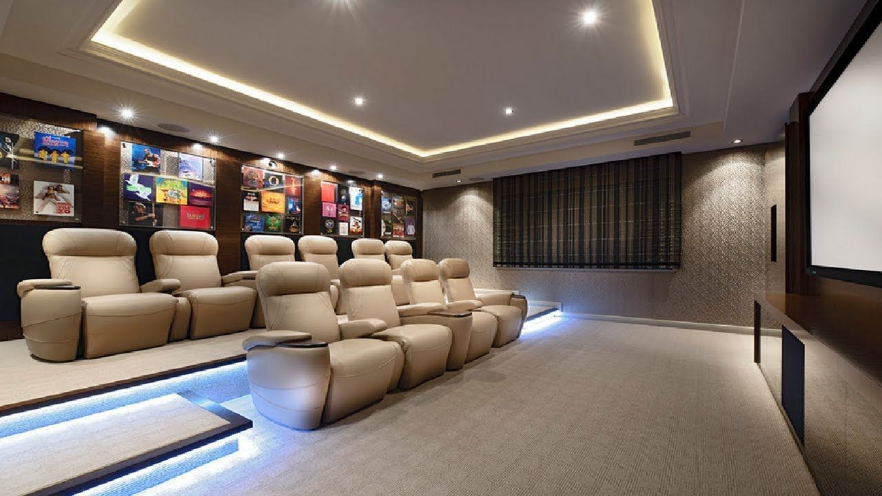 30 Cozy Home Theater Room Seating Ideas Home Theater Rooms Home