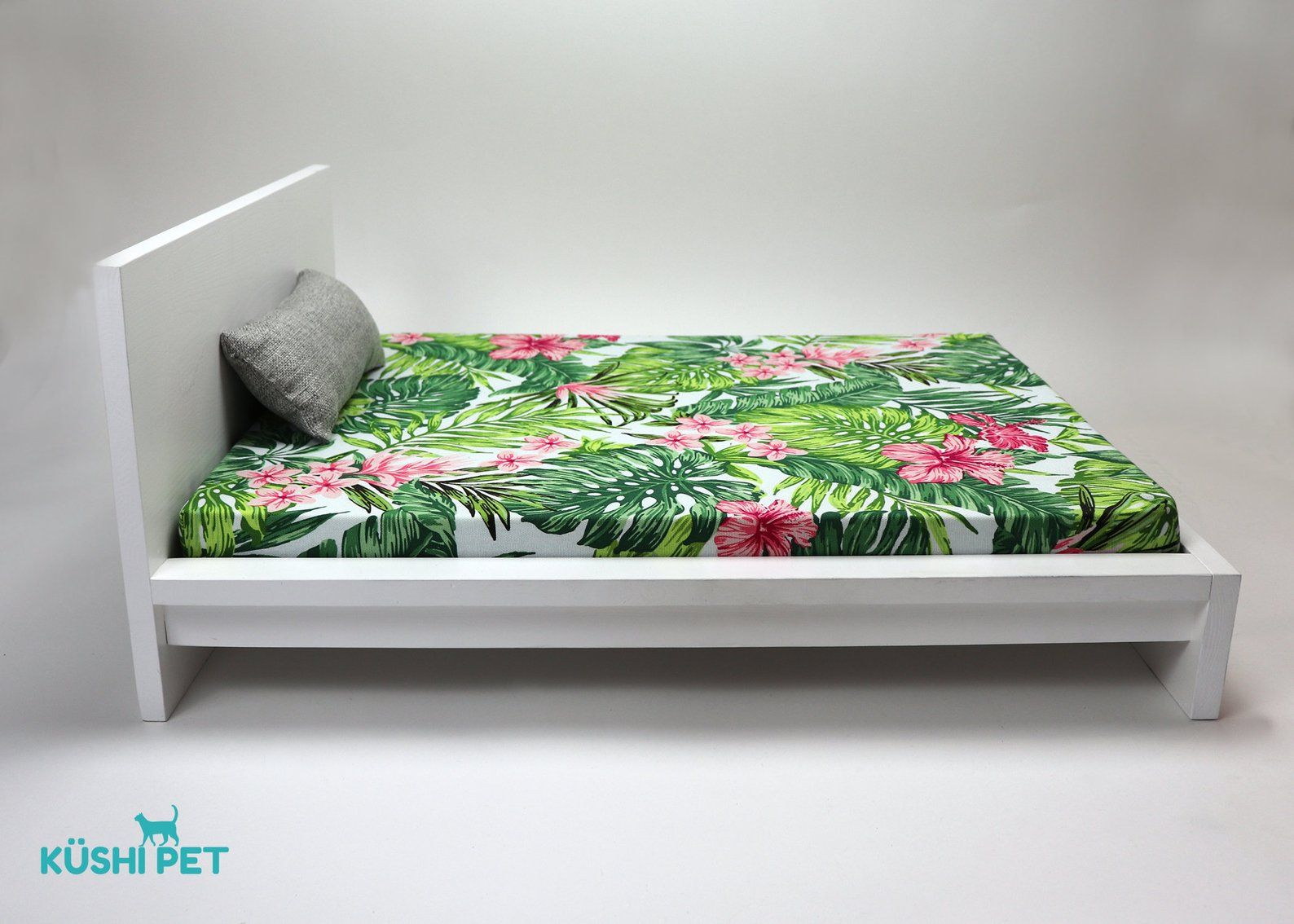 Tropical Small Dog or Cat bed with Zippered, Washable