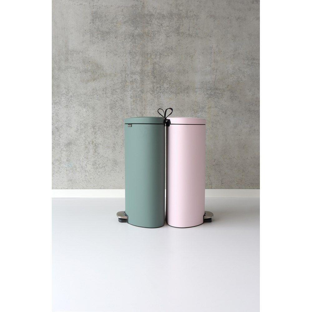 Brabantia Motioncontrol Pedaalemmer 30 L.Brabantia Flatback Pedaalemmer 40 L Mineral Pink Products I Love