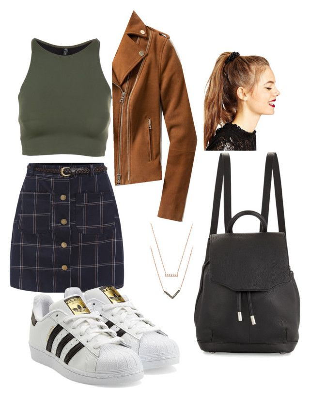 """""""Untitled #2"""" by maekylacarapepito on Polyvore featuring Onzie, adidas Originals, Exclusive for Intermix, ASOS, Michael Kors and rag & bone"""