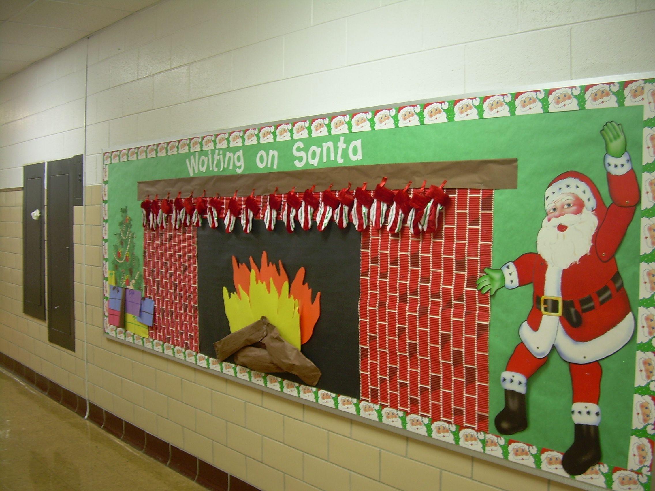 Fireplace Bulletin Board Ideas Google Search School