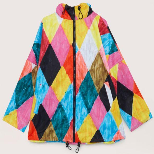 Harlequin Raincoat by Gorman