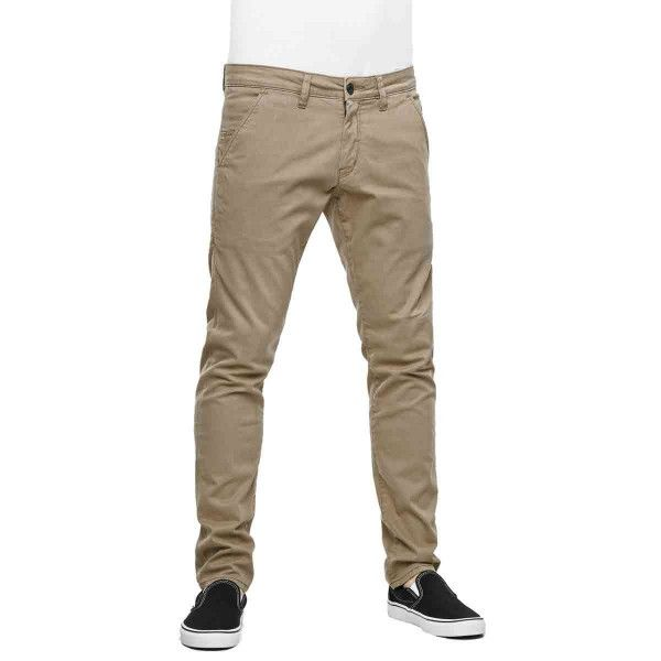 Reell Herren Jeans Flex Tapered Chino - Dark Sand  1
