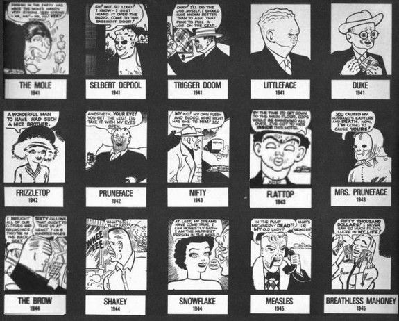 Dick Tracy's Rogues Gallery | The Rise of Superheroes ...