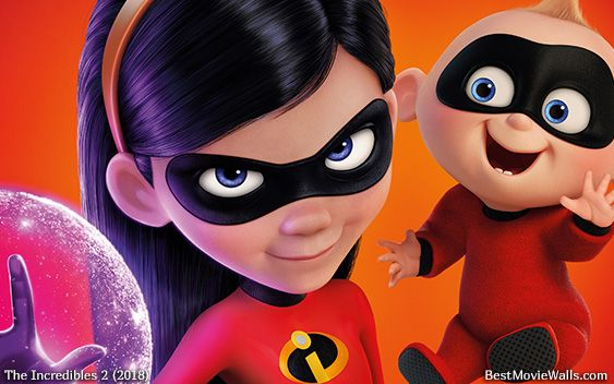 theincredibles2 wallpaper hd with jackjack and violet the incredibles movies pinterest violets