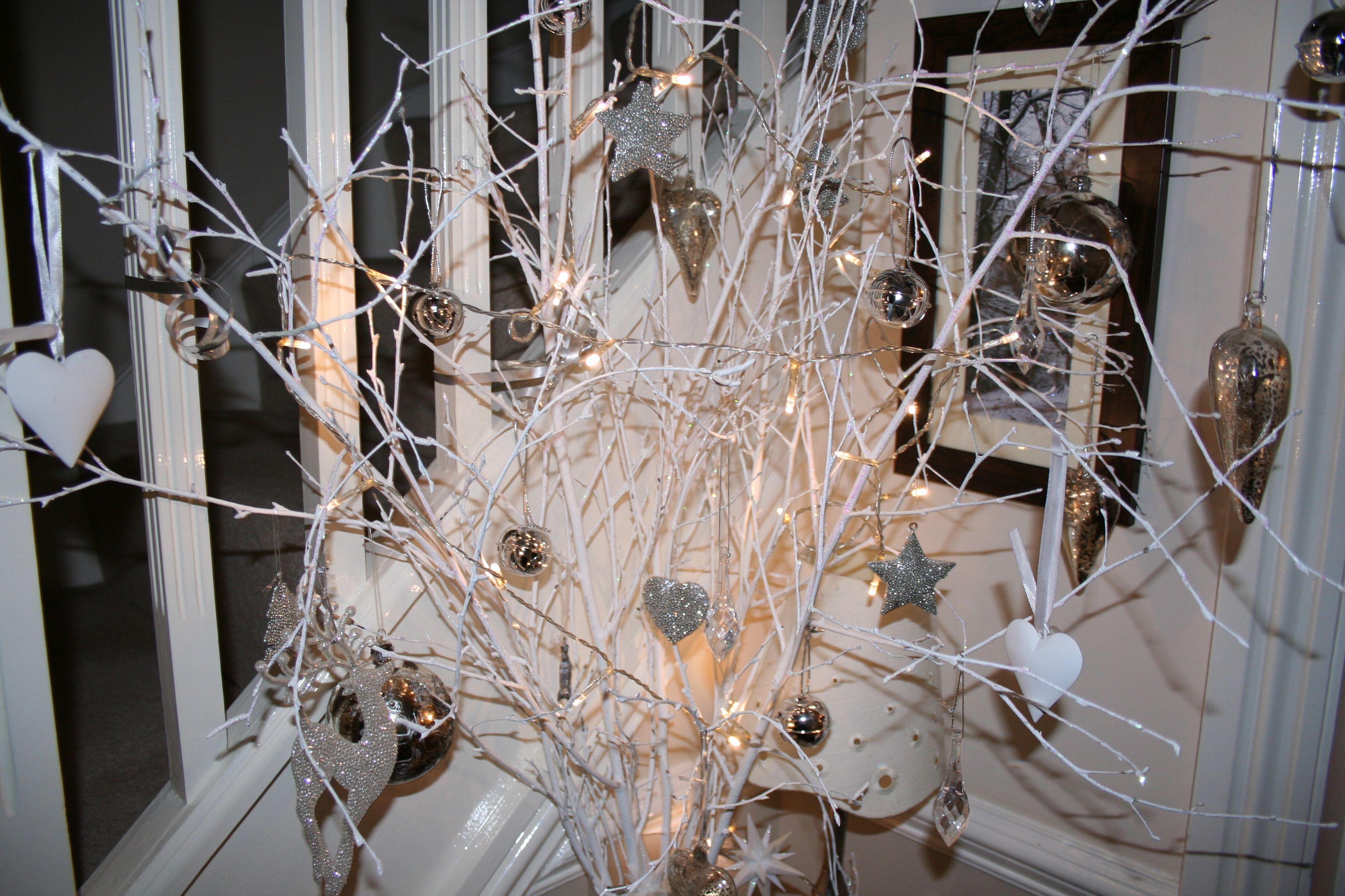 My entrance hall Christmas display