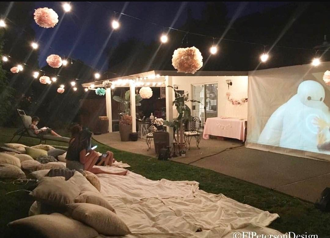 With summer coming up, check out this cute idea for a backyard movie on school movie ideas, family movie ideas, library movie ideas, halloween movie ideas, 40th birthday sign ideas, backyard landscaping, movie party ideas, autumn movie ideas, backyard designs, anime movie ideas, movie snack ideas, outdoor movie ideas, christmas movie ideas, backyard tv, diy movie ideas, movie night ideas, diy halloween decorating ideas, movie theme decorating ideas, theater room ideas, thriller movie ideas,