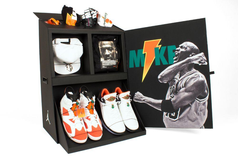 promo code 806e9 ec469 Jordan X Gatorade Seeding Kits  creative  packaging  design  box   influencerpackaging  creativeprint