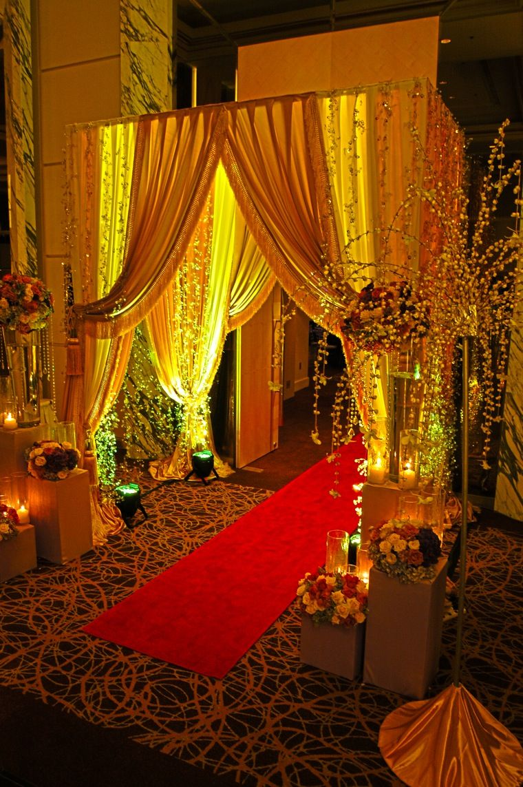 flora et cetera: middle eastern charm | Wedding entrance ...