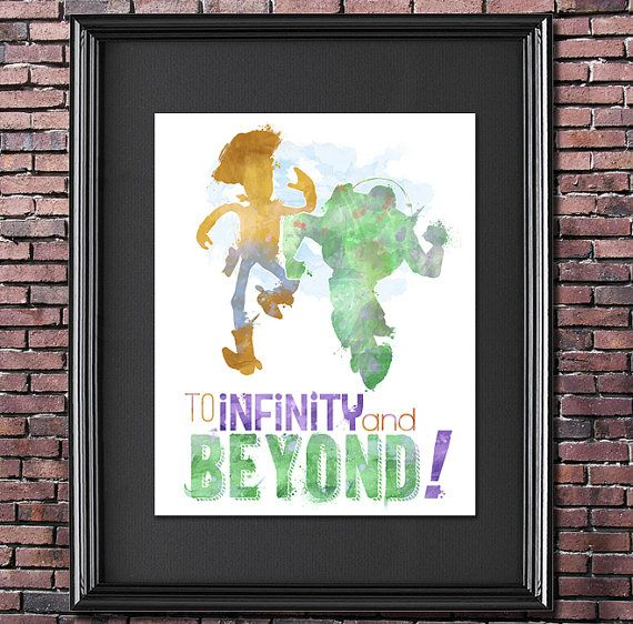To Infinity and Beyond 8x10 Poster - DIGITAL DOWNLOAD / Instant ...