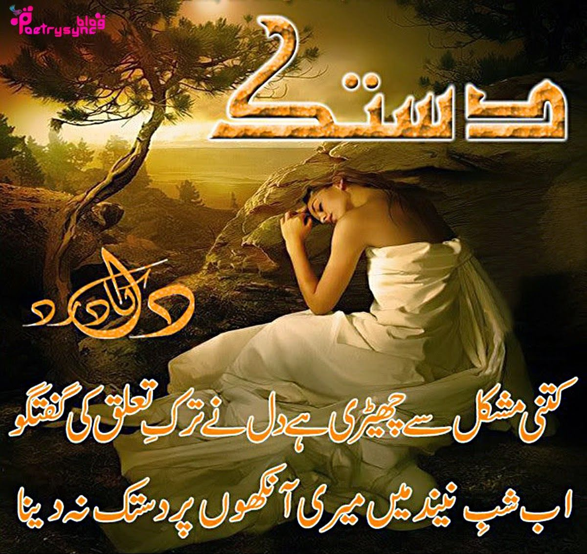 Sms Sad Quotes: Poetry: Dil Shayari/Poetry Images In Urdu Sad Mood Vol-02
