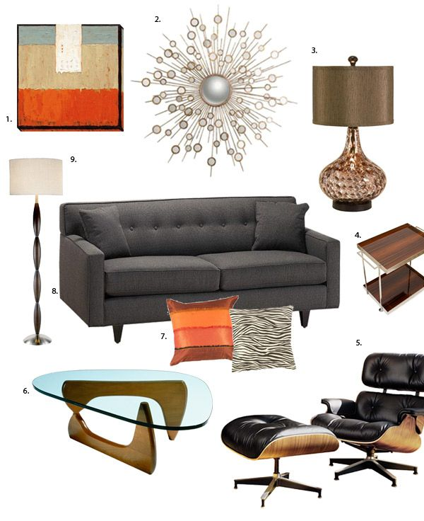 Retro Man Cave Furniture : Home decorating for guys mad men decor man caves