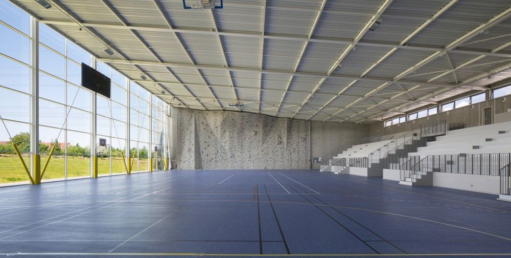 Exterior: Gallery Of Lardy Sports Hall / Explorations Architecture