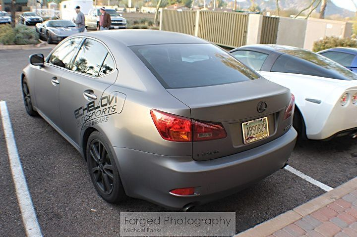 matte grey lexus is250 | forged photography | on the go